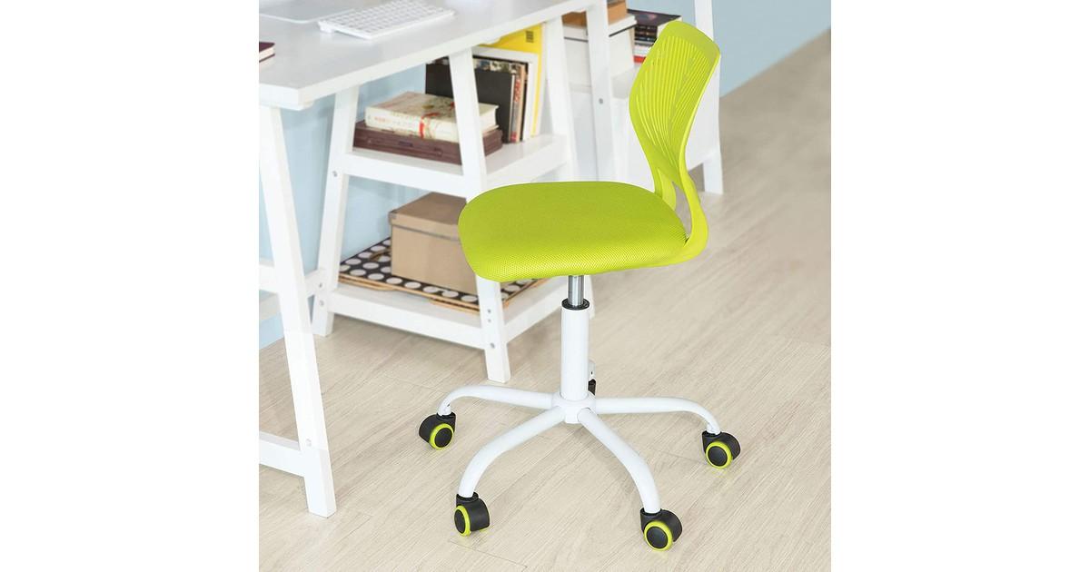 Simpletrade Bureaustoel - Ergonomische bureaustoel - Voor jongeren - In hoogte verstelbaar - Groen