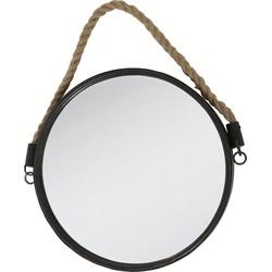 Light&Living Spiegel Force brons Ø38