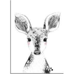 Hert Kinderkamerposter - A4 poster (21x29,7cm)