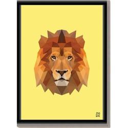 Dierenposter Leeuw - A3