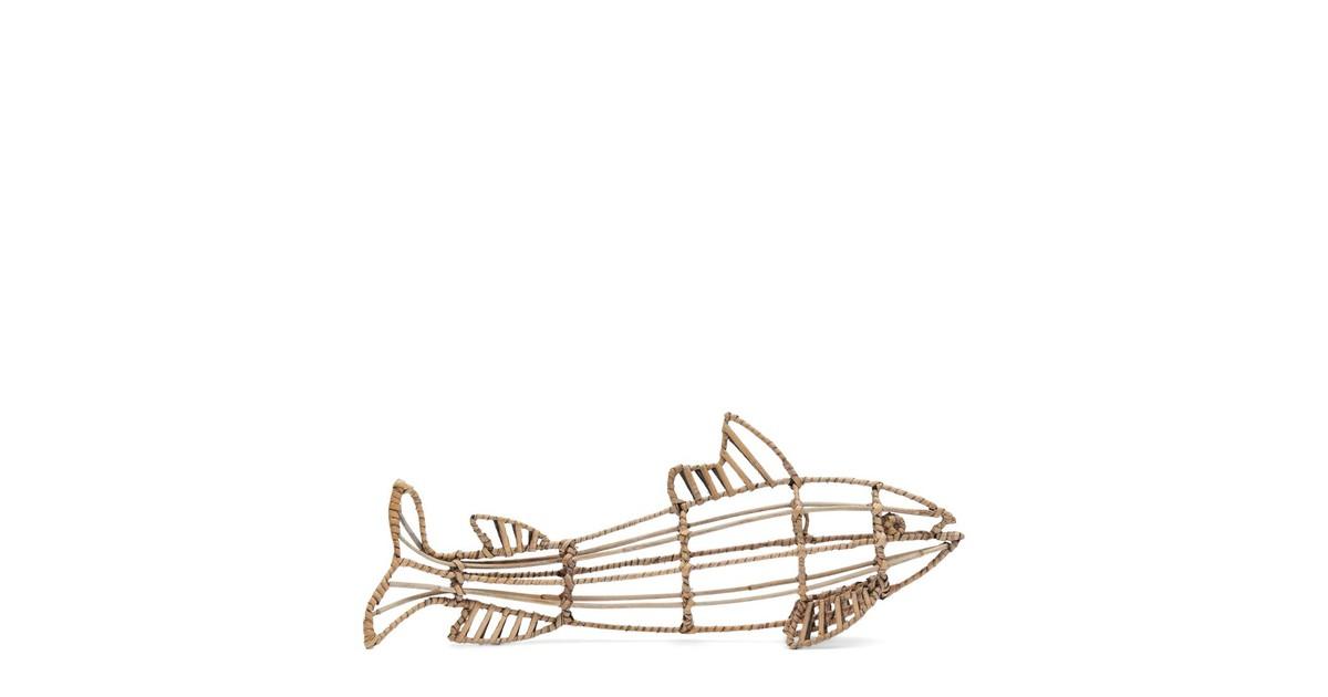 Riviera Maison Fabulous Rattan Fish S Natural Hout 7.0 x 50.0 online kopen