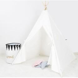 Tipi tent Speeltent Kinderkamer - Wit | Blitsr - Kinderkamerdeco