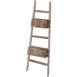 Cozy Ibiza - Ladder met plantenbakken
