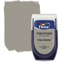 Muurverf Tester Authentic Grey 30 ml