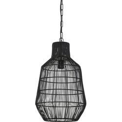 Hanglamp HAISEY - Mat Zwart