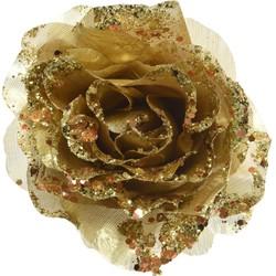 Roos pes clip d14h8,5 cm l.goud