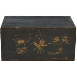 Fine Asianliving Fine Asianliving Antieke Chinese Kist Handbeschilderd  - Gansu China