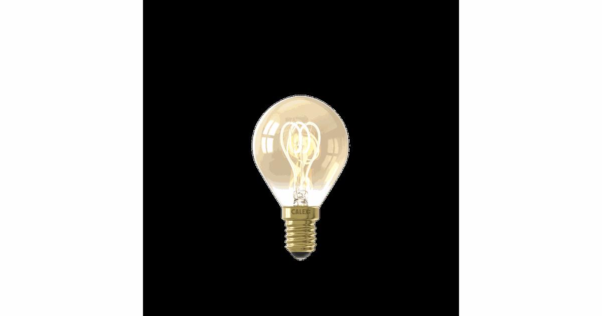 LED Flex Filament Ball lamp P45 220-240V 4W E14 Gold