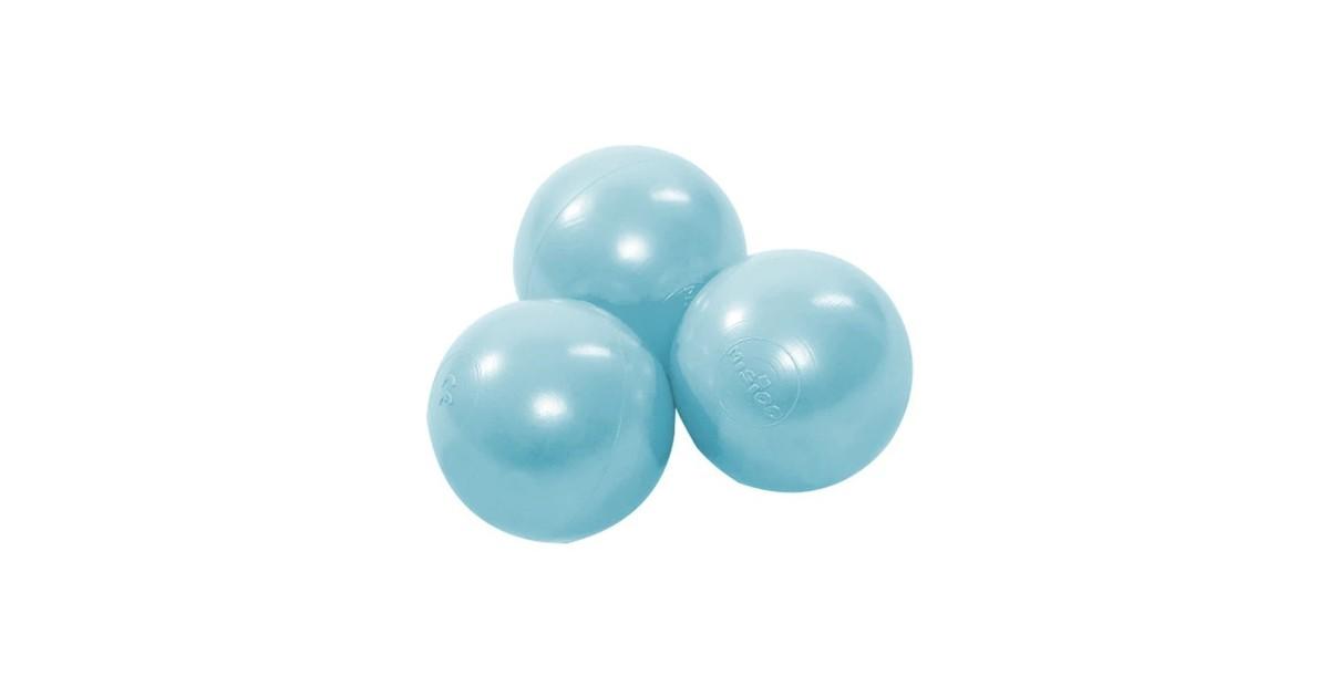 Misioo Ballen, 50 stuks | Mint Pearl