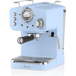 Swan Retro Espressomachine Blauw