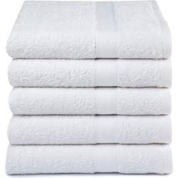 Handdoeken Wit (5 stuks)