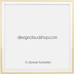 Houten wissellijst - Fotolijst - Wit + Blank - 20x25 cm