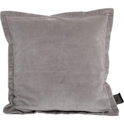 kussen bing grijs velvet 45 x 45 x 3