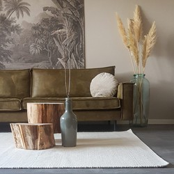 Wollen Vloerkleed Wit / Ivoorwit 160x230cm - Mrcarpet