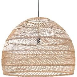 hanglamp riet naturel 60 x ø80