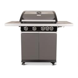 Patton Patio Pro Chef gasbarbecue 4+1 frozen grey