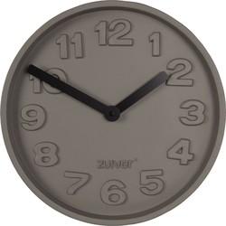 klok Concrete Time zwart Ø31,6 x 5,5