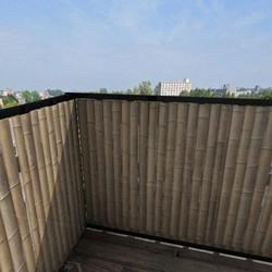 Balkonscherm bamboe verticaal (100x150cm Enkelzijdig)
