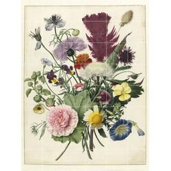 IXXI Wanddecoratie Anoniem - Boeket bloemen 120 x 160 cm