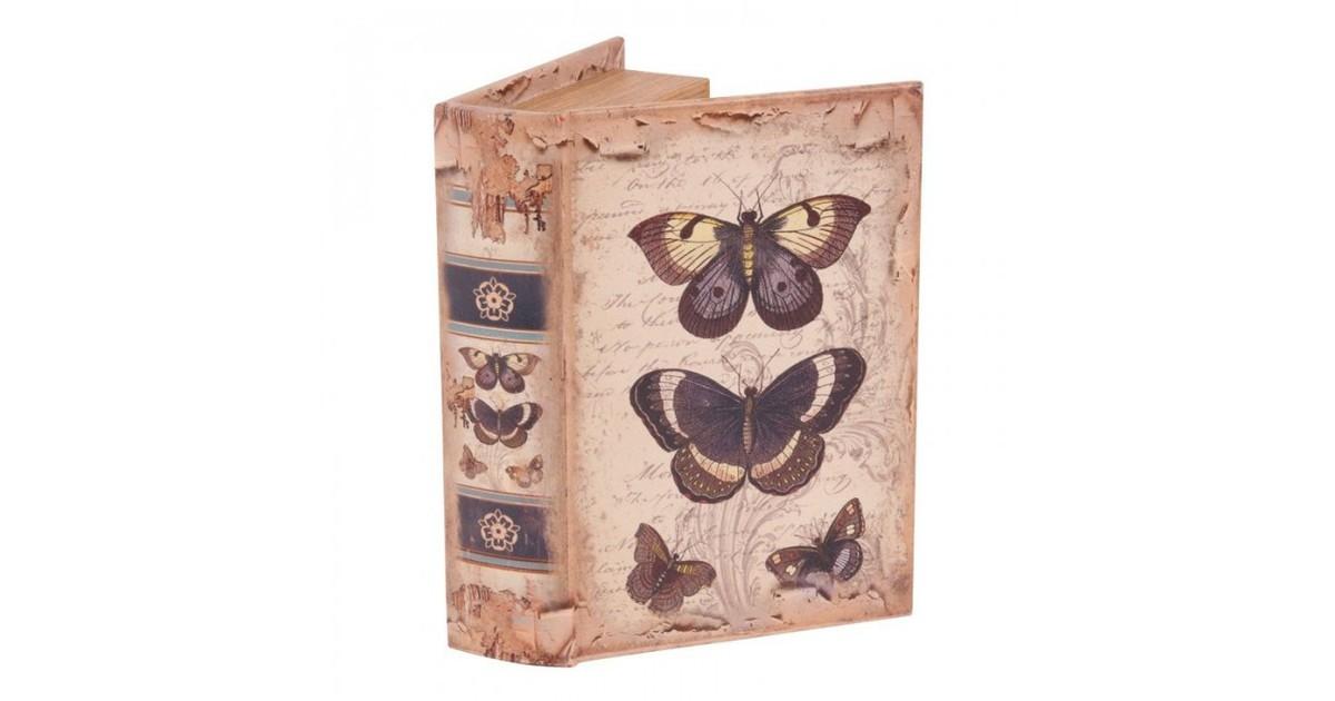 Baroque Collectie Boek doos 20 cm Vlinders