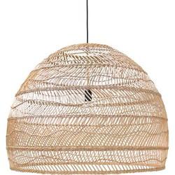 Hanglamp riet - handgevlochten - Large - HK Living