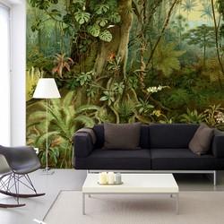 Tropisch regenwoud - 200x260 cm (BxH)