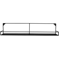Metalen plank-zwart-80x16-Housevitamin
