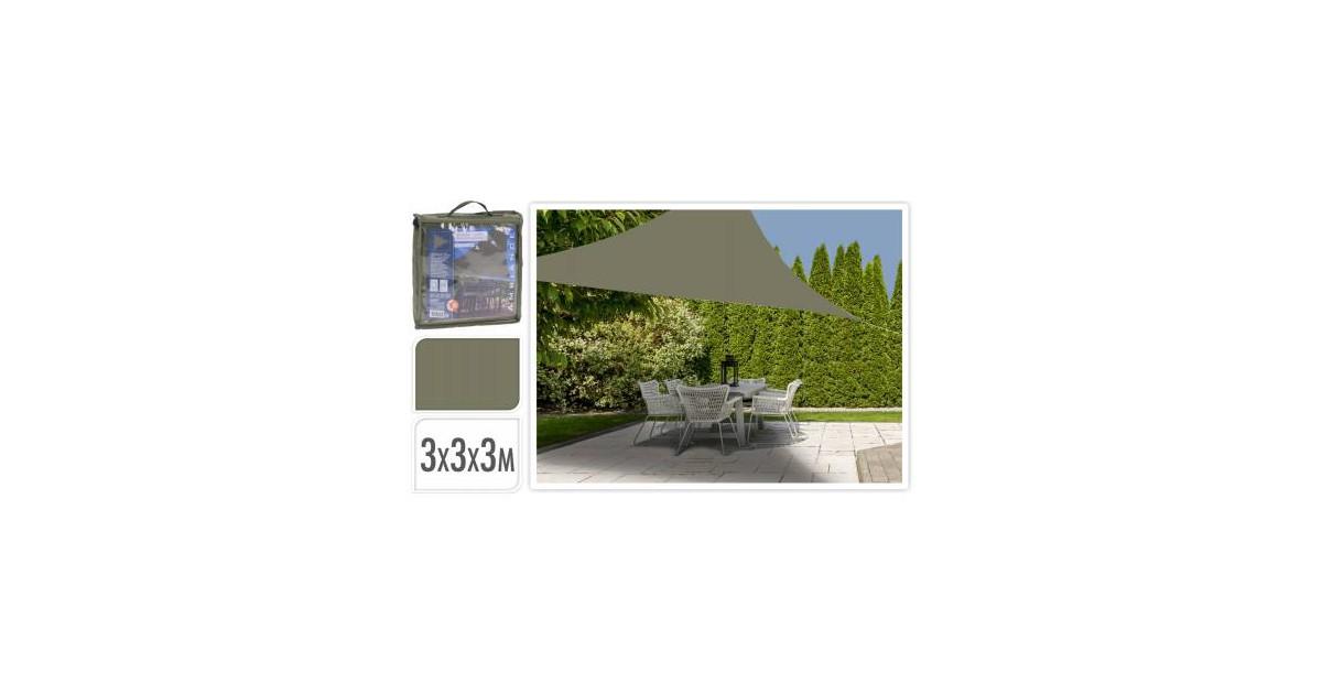 Koopman Schaduwdoek 3X3X3M groen