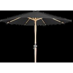 Lanterfant Lanterfant® Parasol Lucas - Houten parasol - 300 cm - Vintage Black