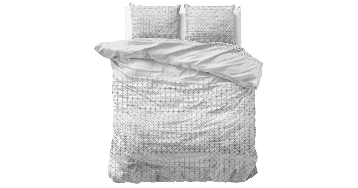 Dreamhouse Sleeptime Dekbedovertrek Gina 2 Anthracite-240x200/220