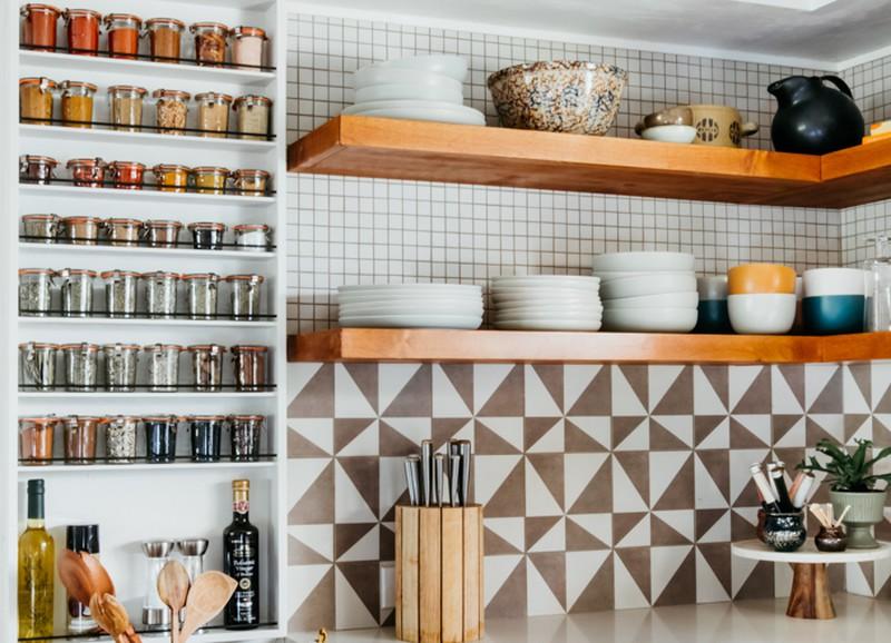 Inspiratie: kruidenrek in de keuken