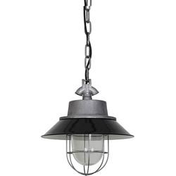 Dutchsteel Hanglamp Dean staal zwart