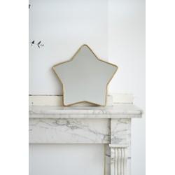 Brass mirror Star M