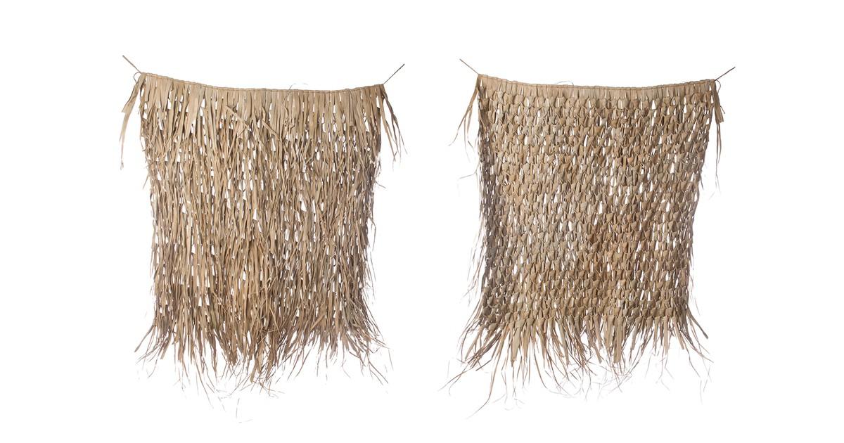 Cozy Ibiza - palmbladeren mat hanger