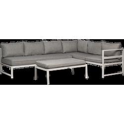 Lanterfant® Loungeset Stijn - Clay - Aluminium - 6 personen