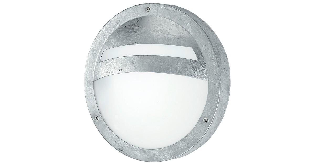 Eglo Sevilla Buitenverlichting Wand/Plafondlamp 1 Lichts Zink online kopen