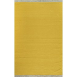 Kilim plain yellow 160x230
