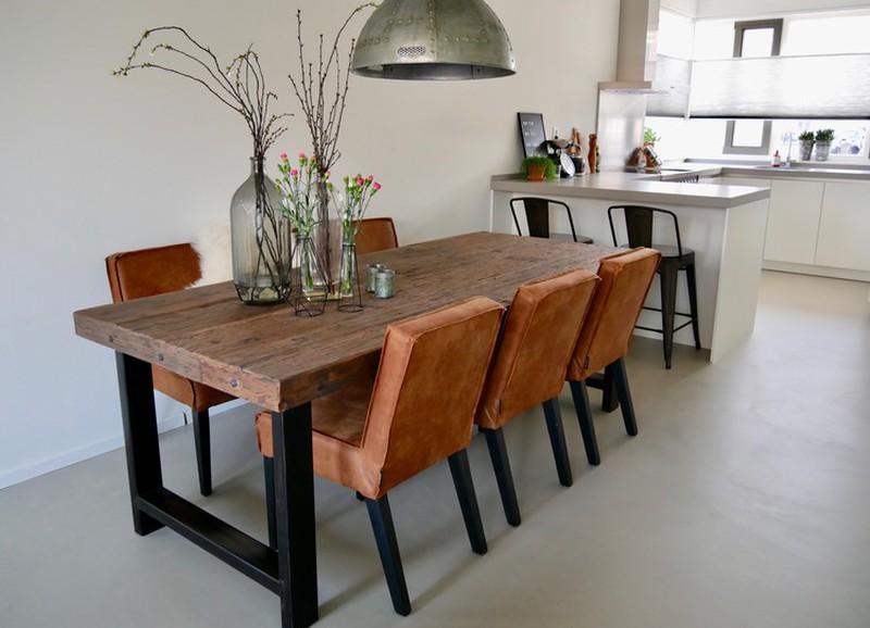 Met deze planken maak je je eigen tafel of wandplank op maat!