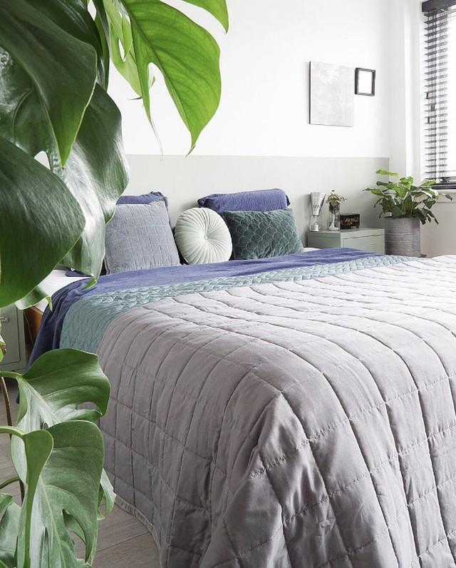 Shop the look: frisse slaapkamer in groen-blauwtinten