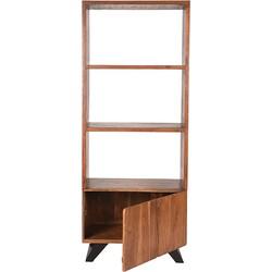LABEL51 - Boekenkast Temba 70x45x175 cm - Industrieel - Rustic