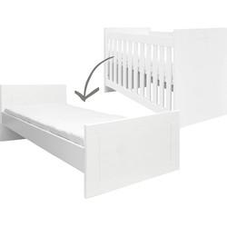 Bopita Merel Omvormbaar Bed - 60 x 120 cm/90 x 200 cm Wit
