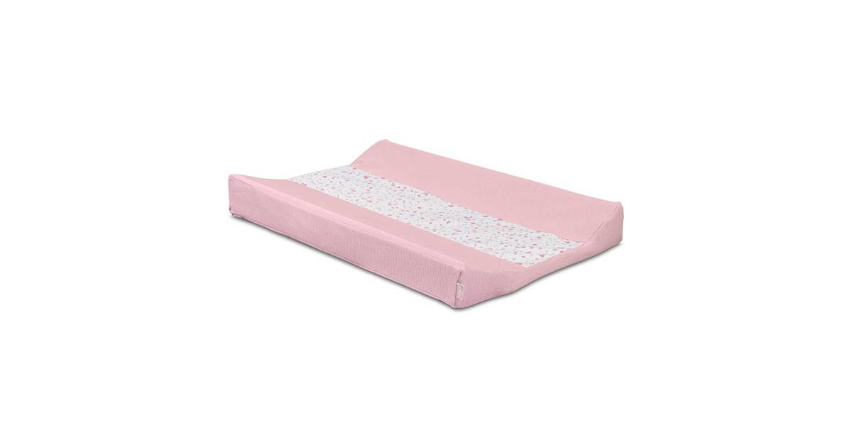 Jollein Waskussenhoes Tiny Waffle Soft Pink 50x70cm