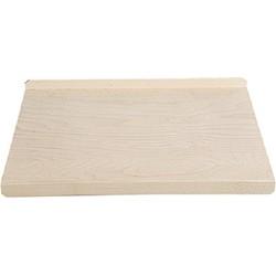 FSC® Houten Dubbelzijdige Aanrechtplank - Te gebruiken als Bak plaat of als Deegrol plaat - Keukensnijplank - Rechthoekig