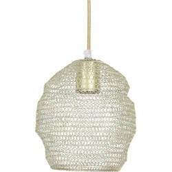 hanglamp nola gaas champagne 20 x ø18