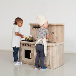 Steigerhouten Kinderkeukentje Kiddy