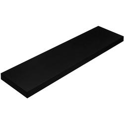 Nancy's Wandplank - Zwevende plank - 80 cm - Boekenplank - Wandplanken - Wandmontage - Plank - Zwart