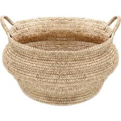 The Raffia Jemeh Basket - Natural