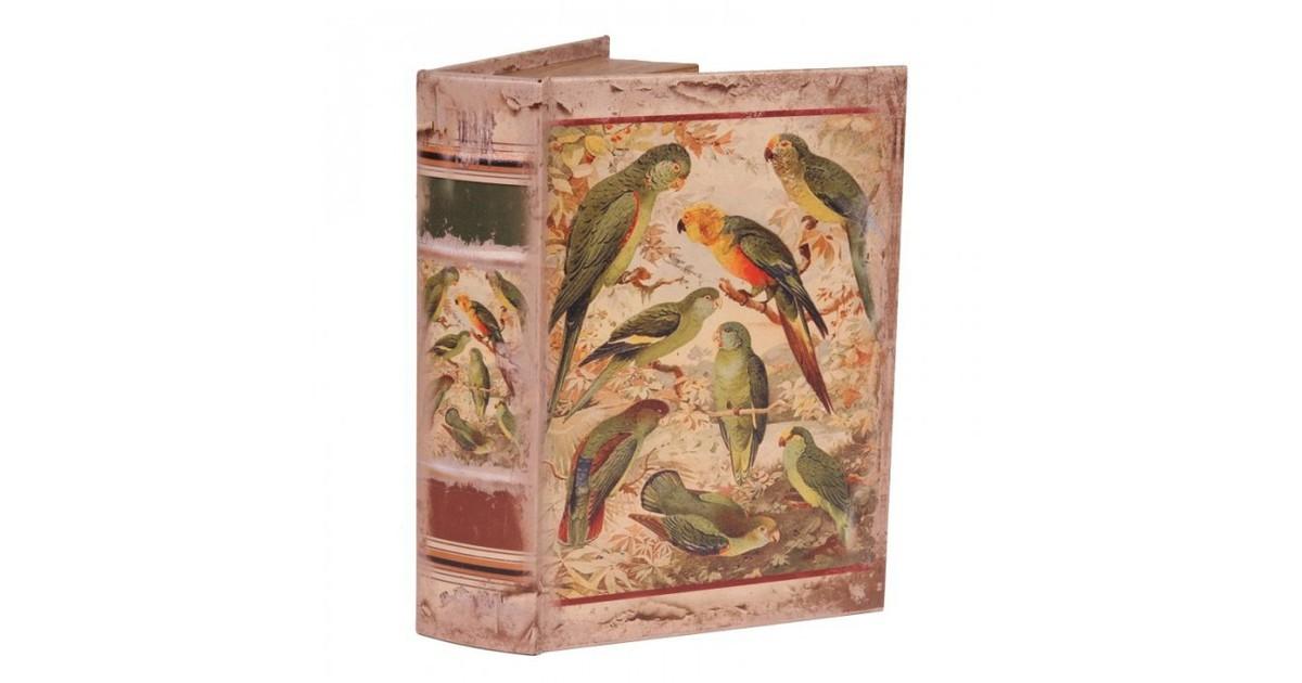 Baroque Collectie Boek doos 27 cm Papegaaien