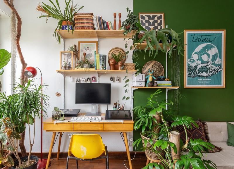 Zo richt je jouw thuiskantoor praktisch én mooi in