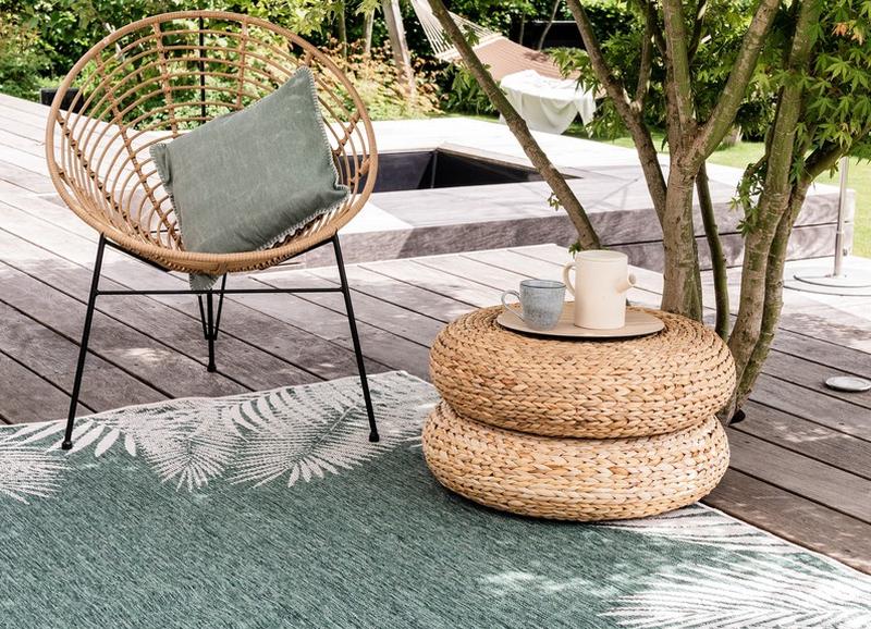 Maak je balkon of tuin nog gezelliger met een buiten vloerkleed